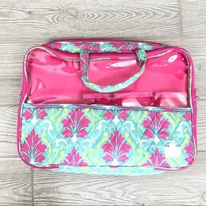 Travel makeup caboodle used normal wear from use